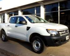 Ranger D/C 2.2 TDI XL Safety 4X4 año 2014, Impecable