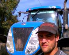 Tractorista Experiencia Siembra Y Roturacion. Rollos Etc