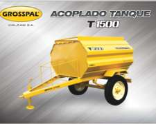 Acoplado Tanque T 1500 - Grosspal