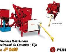 Moledora y Mezcladora de Cereal Horizontal JP9480 Pirro