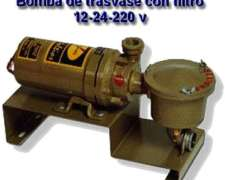 Bomba Super 7000 De Trasvase De 12 - 24 - 220 V.