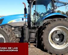 Tractor New Holland 7060 año 2008