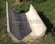 Comedero Feed Lot / Feedlot 500x765x1000mm