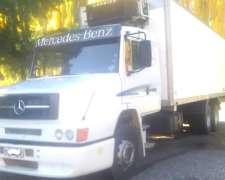 Mercedez Benz 1624 Año 2006 Eje Balancin Y Caja Termica