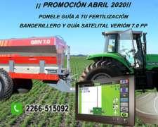 Banderillero y Mapeador Satelital. Oferta OFF