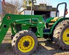 Tractor John Deere 5400 Con Pala John Deere 540