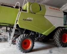 Cosechadora Claas Tucano 470