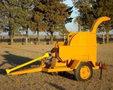 Chipeadora Nueva - Reforzada - 160 Diámetro MAX de Trabajo