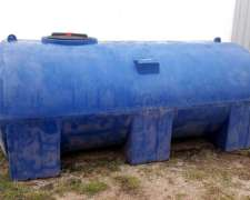 Tanques Plásticos Horizontales 3500 Lts. Rotor