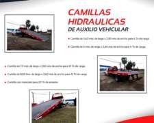 Camilla Hidraulica de Auxilio Vehicular / Plataformas