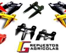 Cosechadoras - Repuestos - Accesorios - Puntones - Cuchillas