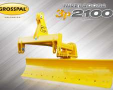 Disponible: Niveladora de 3 Ptos Grosspal Cinalli