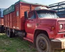 Camion Chevrolet 814, Motor 1518 y Acoplado Montenegro.