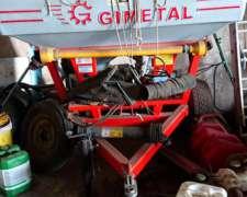 Fertilizadora Gimetal - EDR 1500 Seminueva