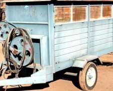 Carro Forrajero con Turbina de Succión.