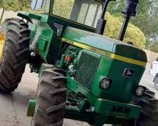 Tractor John Deere 3140, año 1985, Doble Traccion