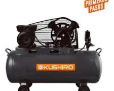 Compresor 200 Litros Kushiro