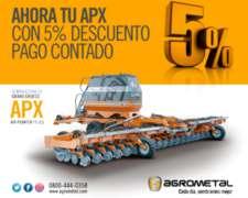 Sembradora Agrometal Apx Air Planter 11-3,5