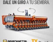 Sembradora Agrometal TX Pivot Autotrailer 20/42