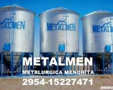 Silo Aereo Metalmen Colonia Menonita