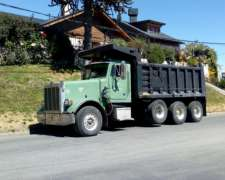 Camion Peterbilt Tatu Volcador