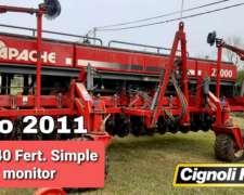 Apache 27000 de 16 a 40 0 12 a 52 Fert Linea Monitor.