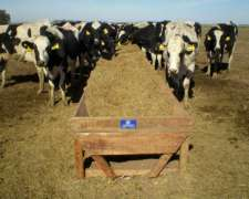 Comedero Madera Movil 5m X 1.10m P/20 Vaca Tambo Agraso 2020