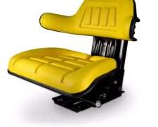 Butaca Para Tractor Universal, Asiento Amarillo