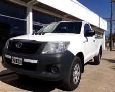 Hilux Cabina Simple 2.5 TDI DX Pack 4X2 año 2014 Orio Hnos