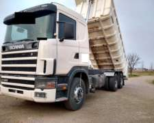 Scania R 380 6X4 Volcador