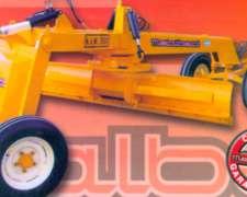 Niveladora Hidráulica Mod NAM 3000 4 Ruedas - Metalbert