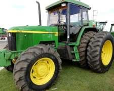 Tractor John Deere 7500 - 1996 - muy Buen Estado