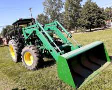 Tractor John Deere 3550 con Pala