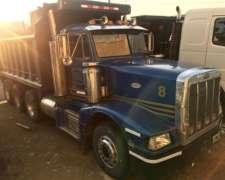 Camión Importado Peterbilt 8X4 Volcadora - 1.995 / Americano