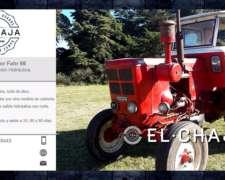 Tractor Fahr 66 Con Dirección Hidráulica. Cubiertas Nuevas