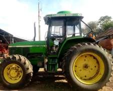 Tractor John Deere 7500 con Aire