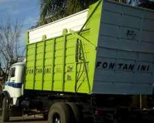 Caja Volcadora Silera 22 Mts para Camiones Fontanini