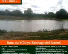 Vendo Campo en Choya-santiago del Estero