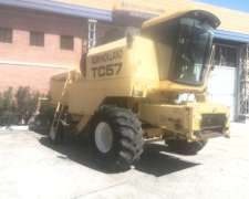 Cosechadora New Holland - TC57 - año 2003