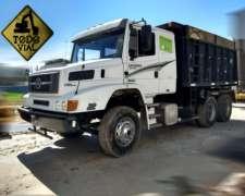 Camion Mercedes Benz 2638 2006 6x4 Volcadora 15mt Todo Vial