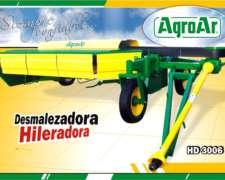 Hileradora Agroar Modelo Hd3006