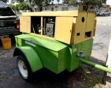 Moto-compresor Sullair 185 Dp - 7kg/cm2