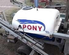 Fumigador de Arrastre Pony 2000lts.