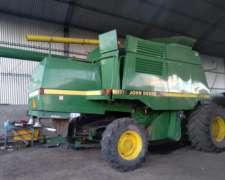 Cosechadora 9600 Jhon Deere