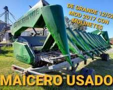 Cabezal Maicero de Grande 12/52 ED 2020 Mod. 2017 con Moline