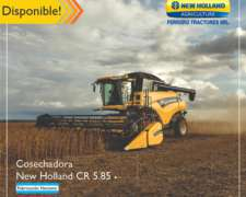 Cosechadora New Holland CR 5.85
