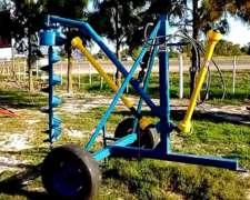 Hoyadora de Arrastre con Cilindro Hidraulico Incorporado