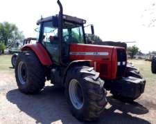 Tractor Massey Ferguson 680, Doble Tracción, 180hp, 2004