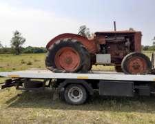 Tractor Hanomag 55 .