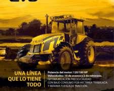 Tractor Asistido 280a Línea EVO - Pauny